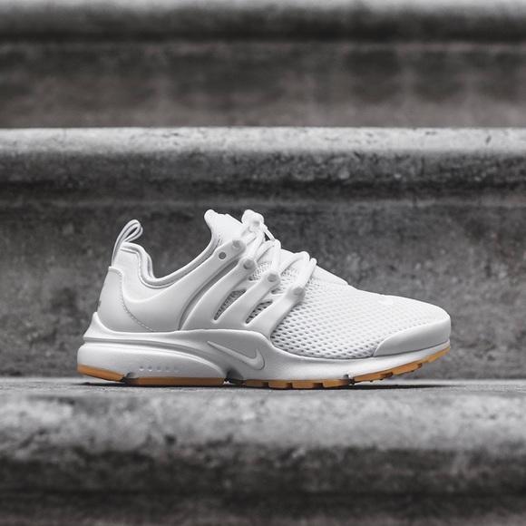 Nike White + Gum Presto Sneakers